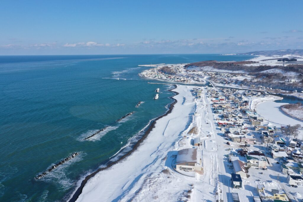 【JAところ通信】オホーツク海沿岸を撮影しました