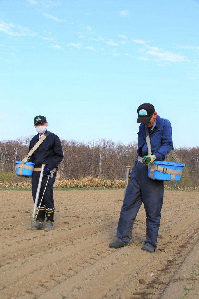 【JAところ通信】新入職員の農家実習を取材しました