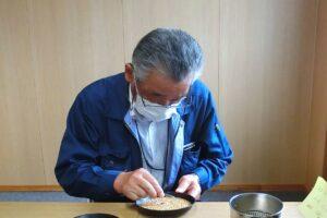 【JAところ通信】令和3年産小麦の農産物検査を受検しました