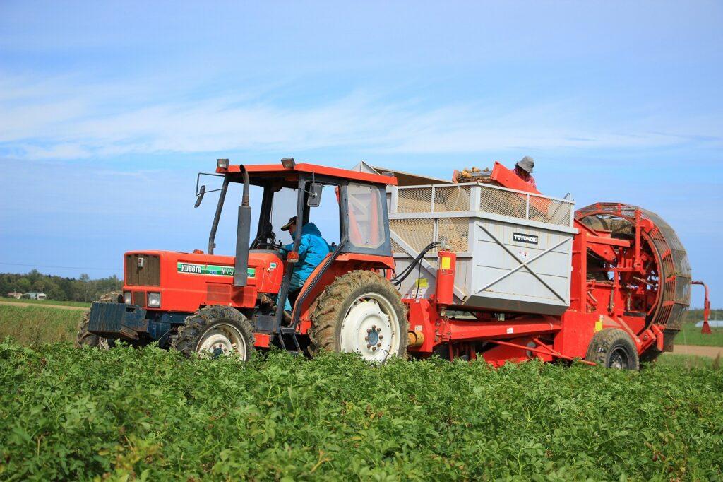【JAところ通信】澱原馬鈴しょの収穫作業を撮影しました